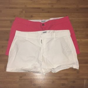 Lot of 2 Old Navy shorts (Size 14)